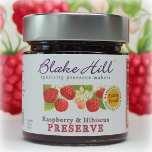 BLAKE HILL PRESERVES_RASPBERRY & HIBISCUS_square